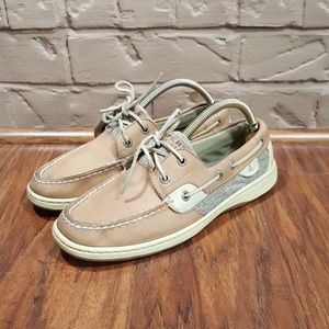 Sperry Top Sider, size 7.5, excellent condition.